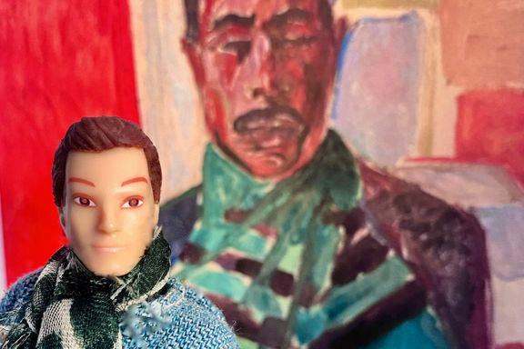 Fra «Neger med grønt skjerf» til «Melaninrik med Hermès-tørkle»: Nora fresher opp Munch!