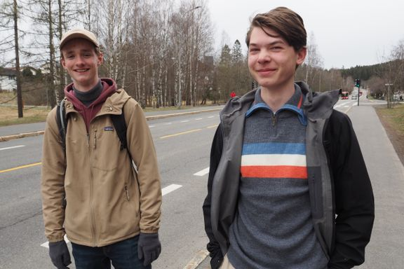 Mens «hele Oslo» var i Marka, gikk de to 16-åringene 6,5 mil gjennom Oslos 15 bydeler