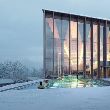 Det nye Tøyenbadet skal koste 1,4 milliarder kroner. Bli med på innsiden.
