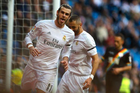 Real Madrid scoret ti mål mot byrivalen