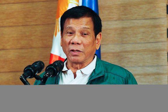 Duterte innfører røykeforbud overalt i Filippinene
