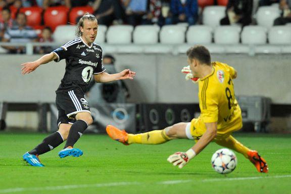Strålende utgangspunkt for Rosenborg etter målfest