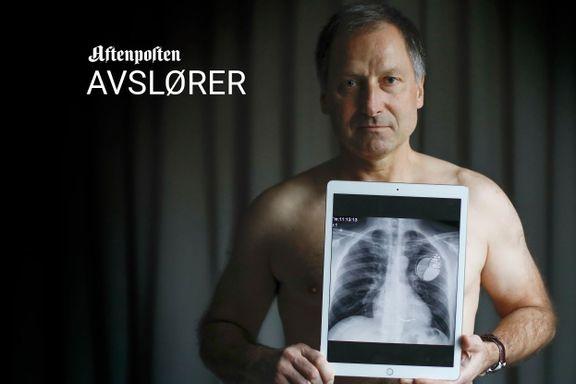Lars Ellingsberg (56) var avhengig av hjertestarteren sin. Så begynte den å pipe.