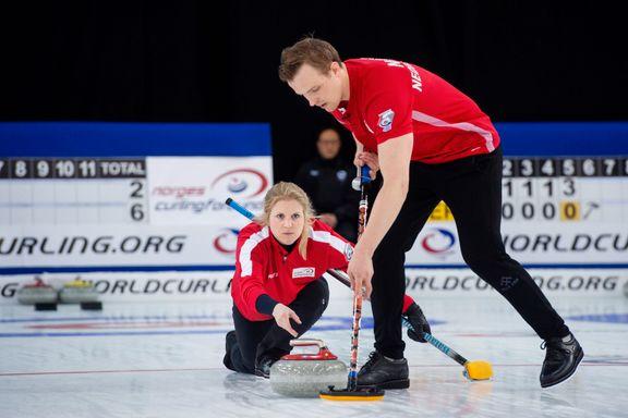Curlingparet storspiller under VM på hjemmebane: – Vi går for gull