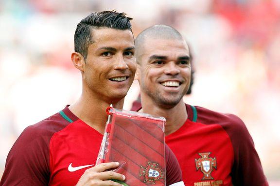 Her er finalelagene: Pepe inn på Portugals lag