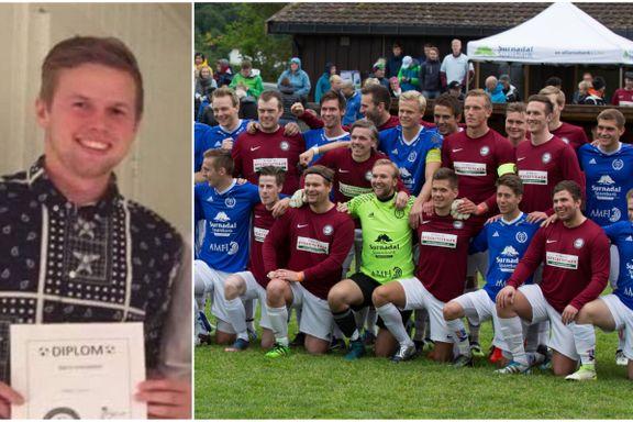 Snorre (22) døde i en tragisk fallulykke. Lørdag ble han hedret.