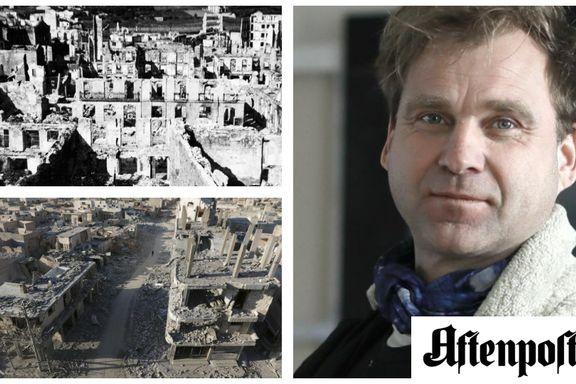 Fra Guernica i 1937 til Aleppo i 2017. Frykten for den totale utslettelse fra luften