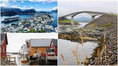 Opplev åtte kjente perler på Nordvestlandet på én helg: Her er reiseruten