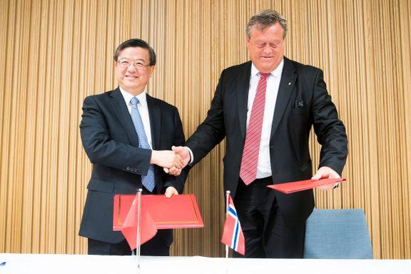 Aftenposten mener: Laks til Kina er flaks for Norge