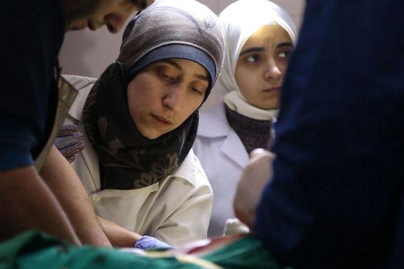 Sterk flue på veggen-dokumentar fra Syrias underjordiske sykehus