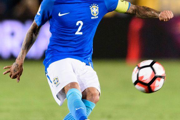 Brasiliansk landslagsback forlater Barcelona