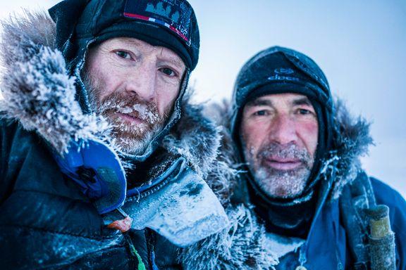 Nei, turen vår over Nordpolen var ikke et PR-stunt
