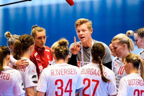 Danskenes sjef har én fordel før semifinalen mot Norge