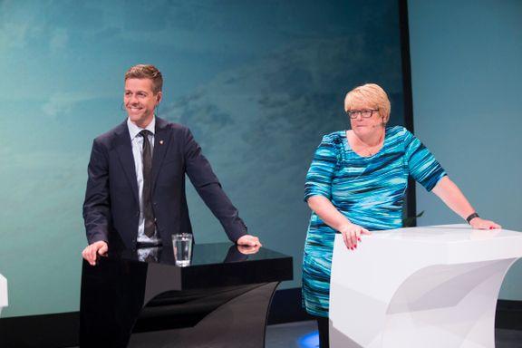 Stanghelle: – Sprikende debatt, med Hareide som vinner