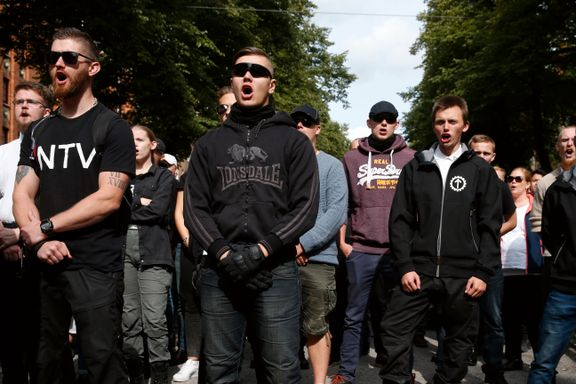 Nazister avlyste marsj i Stockholm