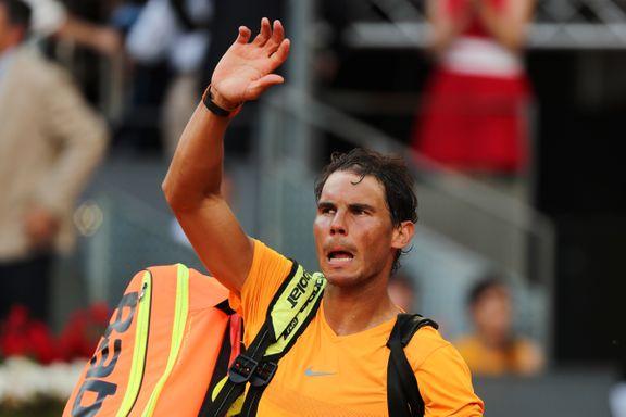 Nadals vanvittige seiersrekke brutt i Madrid - Federer tilbake på tronen