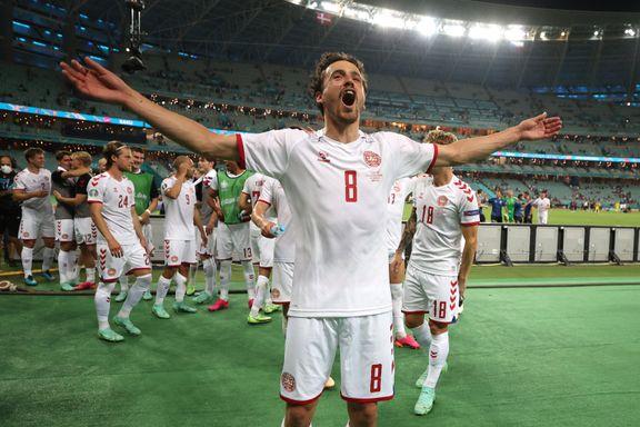 Se de beste bildene fra fotball-EM