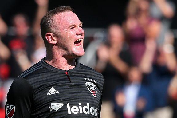 Brennhete Rooney fortsetter å bøtte inn mål i USA