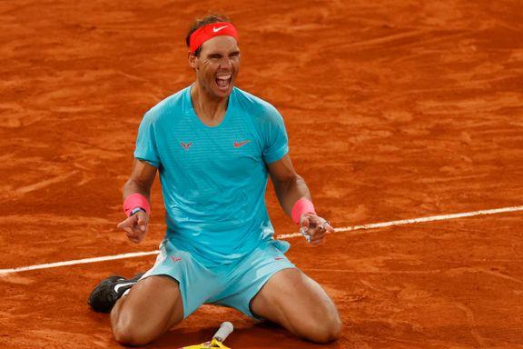Nadal tangerte den aller gjeveste rekorden: – Én av tidenes prestasjoner