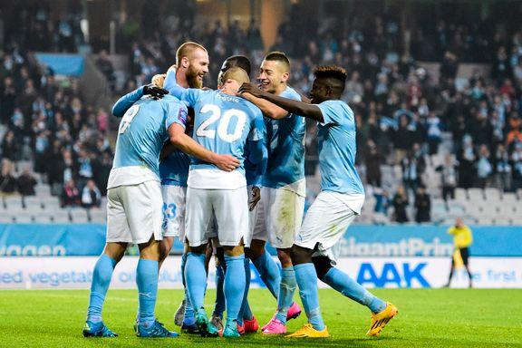Berget-scoring i Malmö-seier