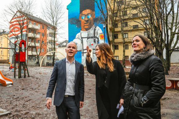 Vil lære av Tøyen for å unngå svenske bydelsproblemer