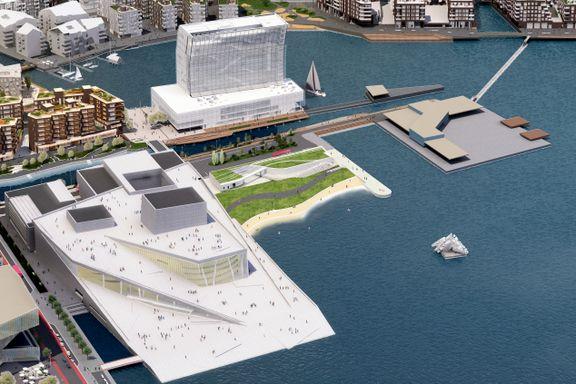 Sukkerbiten-utbygger lover strand, flytende basseng, park og konsertarena ved Operaen