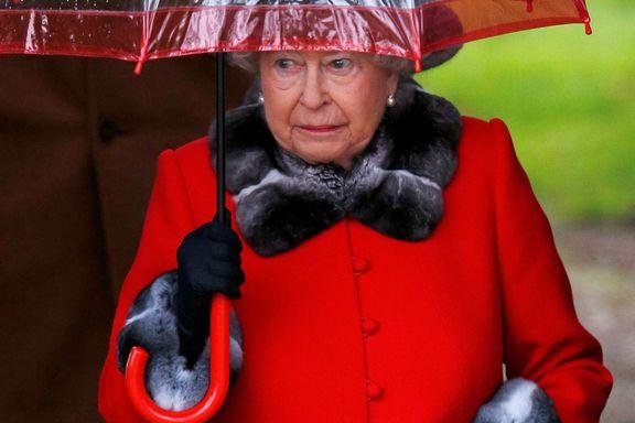 Dronning Elizabeth må stå over nyttårsmesse