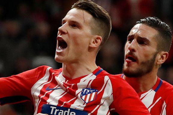 Atlético Madrid tok sesongens niende 1–0-seier