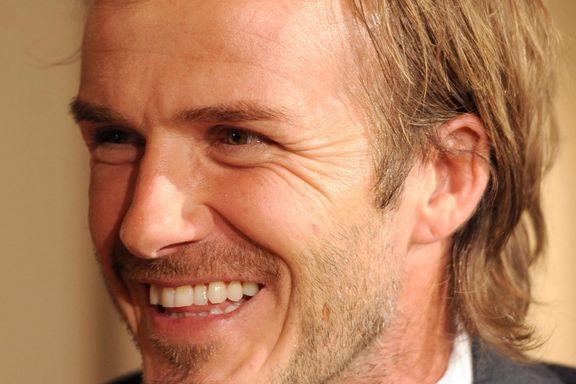 Trondheim brukte Bjørgen. England hadde Beckham. Begge deler var nytteløst.