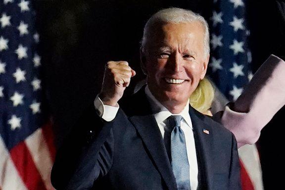 Joe Biden (77) blir USAs 46. president