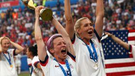 Da det kom frem hva de kvinnelige VM-mesterne ble kalt, måtte presidenten gå på dagen