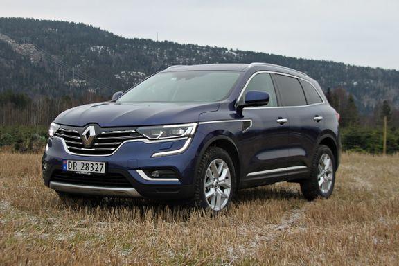 Prøvekjøring av Renault Koleos: Vil være med på SUV-festen