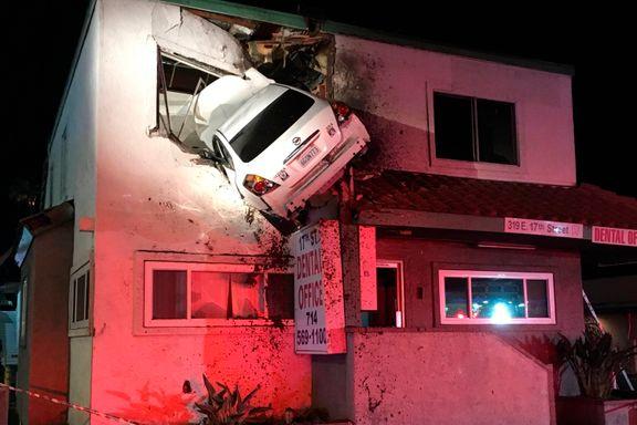 Bil måtte trekkes ut av tannlegekontor