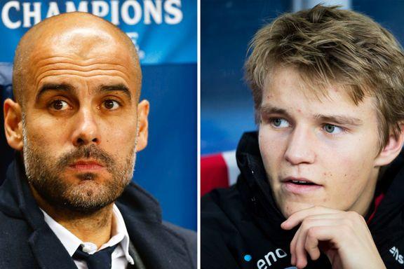 Guardiola: – Om Ødegaard er tidenes beste 15-åring? Ronaldo og Messi var også gode