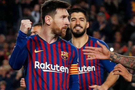 Messi og Suárez sikret ny Barcelona-seier