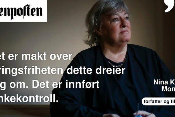 Aftenposten forsvarer homonormativiteten   Nina Karin Monsen
