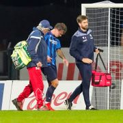 Haugen ut med skade i sjansefattig kamp: – Håper det ikke er et brudd