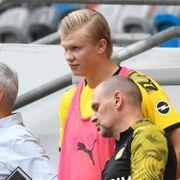 Slik vil Dortmund-treneren unngå «farlig» Haaland-situasjon