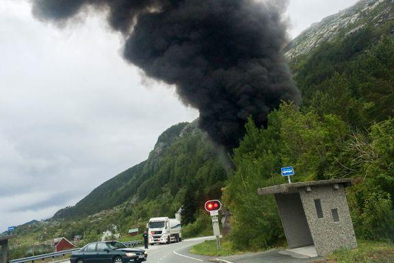 Havarikommisjon-kritikk etter Skatestraumtunnel-brann