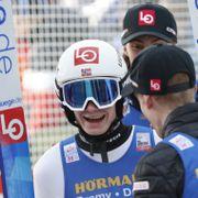 Norsk jubel da Lindvik vant og Tande ble nummer tre: – Blir litt emosjonell