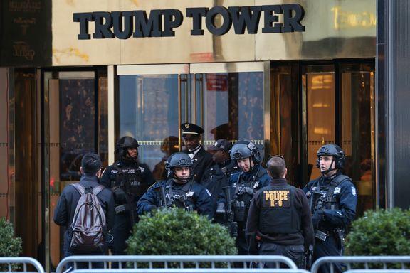 Datamaskin med etasjeplanene for Trump Tower stjålet fra Secret Service-agent