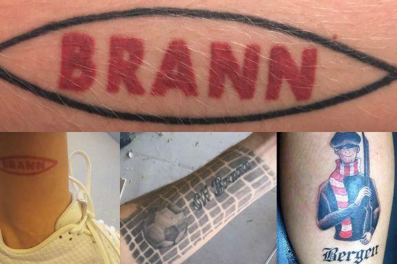Sjekk disse tatoveringene: – Uten Brann hadde ikke livet vært det samme