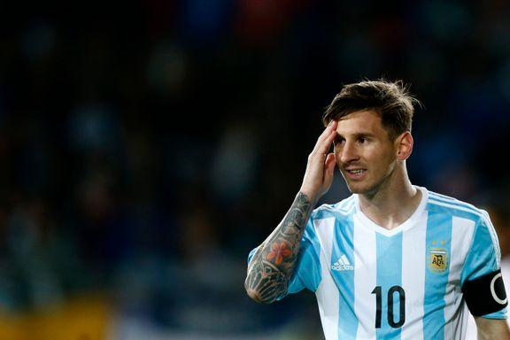 Svak start av Messi og Argentina