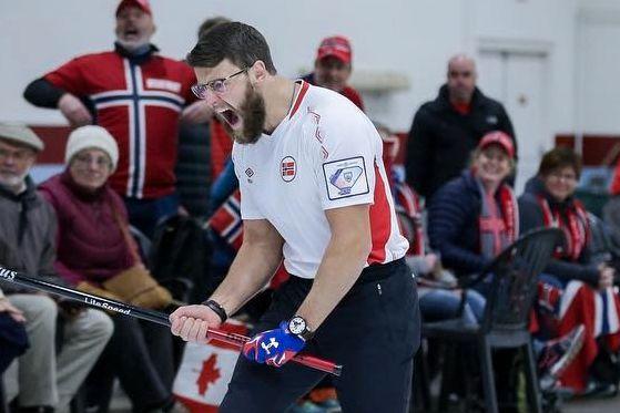 Norge feier motstanderne av banen i VM i curling
