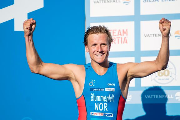 OL-håp fra Bergen satte verdensrekord