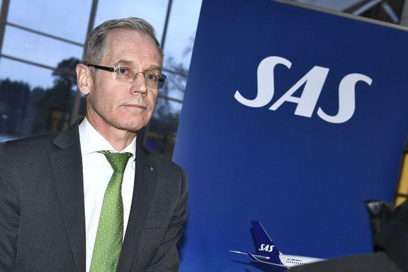 SAS vil låne milliardbeløp med Norges hjelp