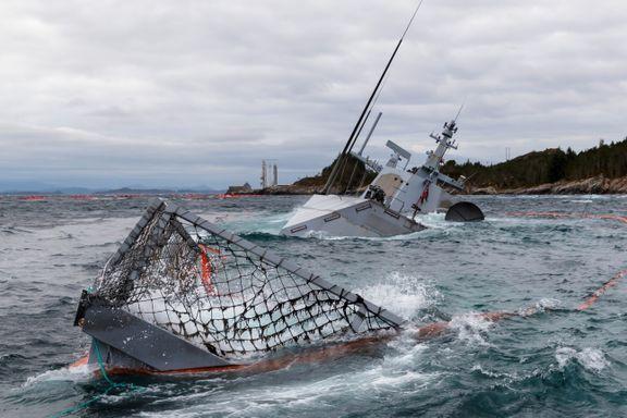 Sjøforsvarssjefen advarer mot etterpåklokskap: – Besetningen hadde ti minutter. Rapporten er skrevet over to år. På et tørt kontor.