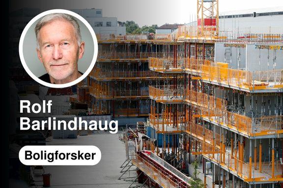Å bygge i utkanten av Oslo kan øke prisene mer enn om det bygges sentralt
