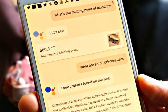 Nå skjønner Google hva du snakker om
