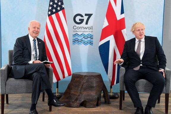 Er dette det nye superparet Churchill og Roosevelt? Eller har Boris Johnson blitt stormannsgal?